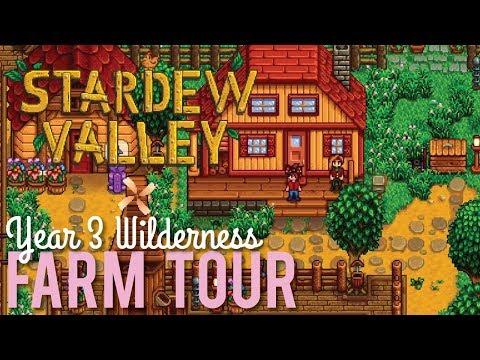 Stardew Valley Wilderness Farm Tour