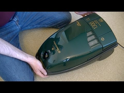 Vintage Electrolux Z1863 Chic Cylinder Vacuum Cleaner Unboxing & First Look