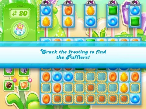 Candy Crush Jelly Saga Level 763 (3 star, No boosters)