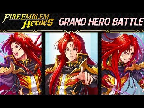 Fire Emblem Heroes - Grand Hero Battle: Julius INFERNAL+Lunatic No Skill Inheritance, F2P Units