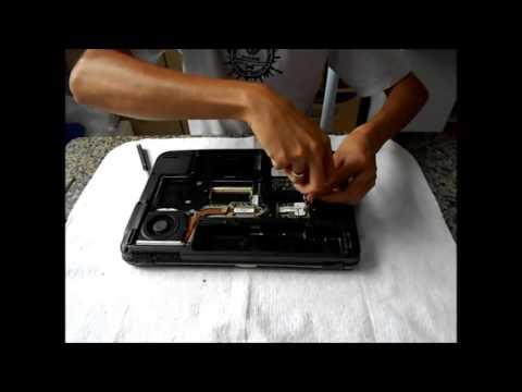 Desmontando Notebook acer aspire 4710 series parte 1