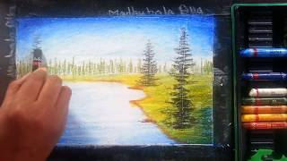 Download Lesson 1 - Absolute Beginners Oil Pastel Painting Lesson Video