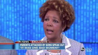 Parents explain why they forgive their 2 sons who tried to Kill them.