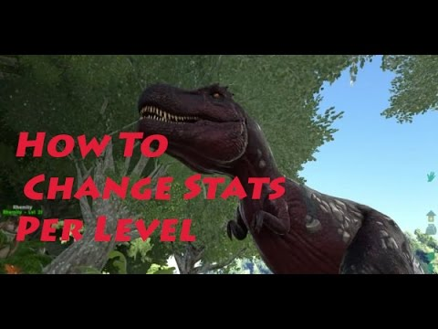 How To: Increase Stats Per Level Ark Survival (Host Havoc)