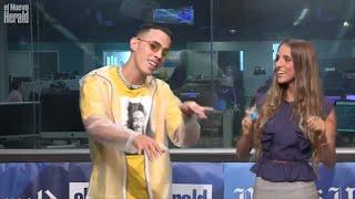 Brytiago canta en vivo su último sencillo 'Asesina' en los estudios de El Nuevo Herald