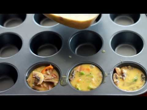 Low-Cal, Low-Carb, Paleo Egg Muffins Recipe