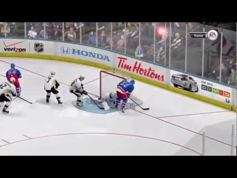 NHL 13 | The Youtuber Challenge - Challenge #1