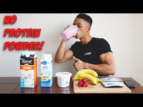 Homemade Protein Shake WITHOUT Protein Powder
