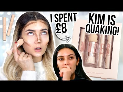 I TRIED KKW BEAUTY DUPES... PRIMARK IS NOT PLAYING! I SPENT £8!