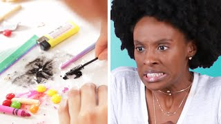 """We Tried A """"Chopped""""-Style Beauty Challenge"""