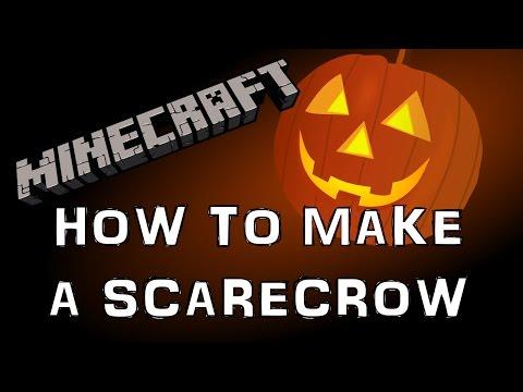 Minecraft Tutorial - Scarecrow