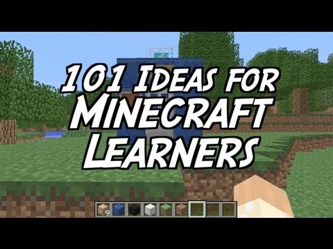 101 Ideas for Minecraft Learners - Two - Make a Tardis
