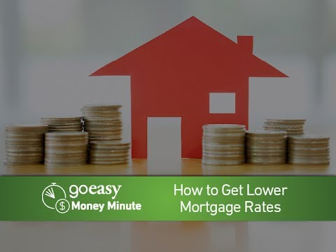 MoneyMinute - How to Get Lower Mortgage Rates