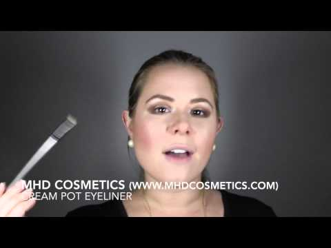 MHD Cosmetics - Cream Pot Eyeliner