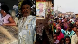 SO SAD ONE OF THE RESPECTED VETERAN YORUBA MOVIE STAR FASASI OLABANKE DAGUNRO HAS GONE HOME TO REST