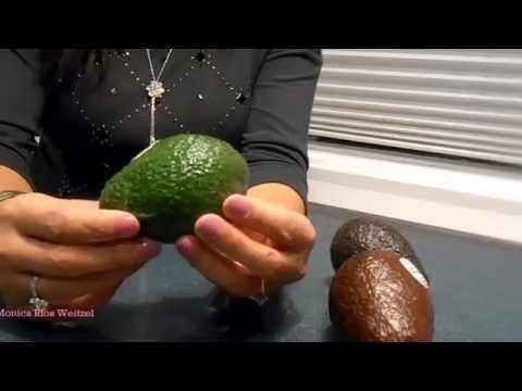 How to choose the perfect avocado in the grocery store!
