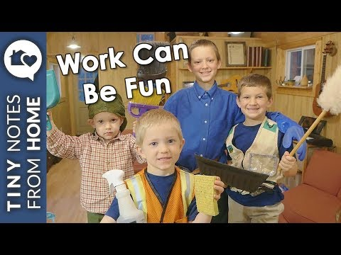 5 FUN WAYS to get your KIDS to WORK!!! // V.019