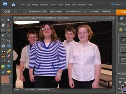Photoshop Elements 6 Adjust Skin Tone