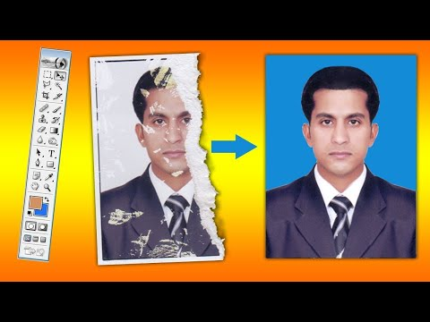 Damaged Photo Repair | Remove Dust and Scratches | Photoshop Tutorial