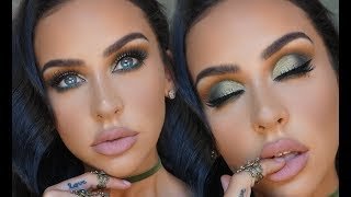 OLIVE SMOKEY EYE: ABH SUBCULTURE PALETTE | Carli Bybel