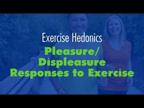 Paddy Ekkekakis: Exercise hedonics: Pleasure/displeasure responses to exercise