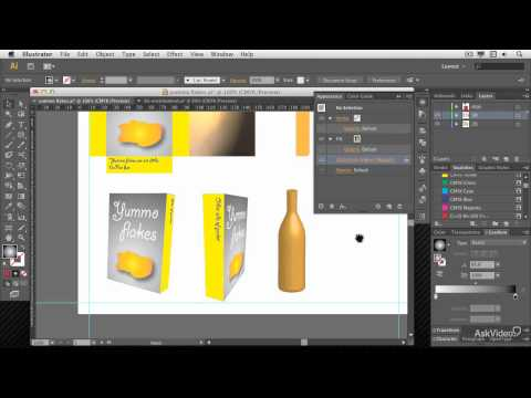 Illustrator CC 105: 3D: Create 3D Objects - 1. Introduction to Illustrator 3D