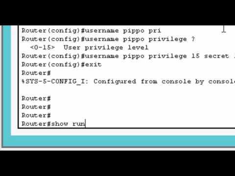 Imparare Cisco IOS - Lezione 2