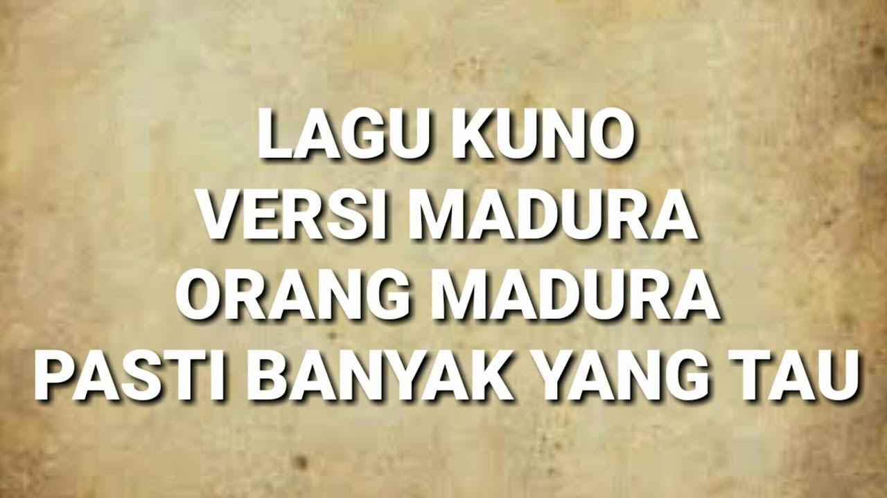 Lagu Madura Jaman Kuno Versi Saini Robert - LARKOLARJHENG