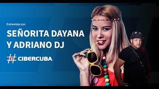 Entrevista a la cantante cubana Señorita Dayana y a Adriano DJ