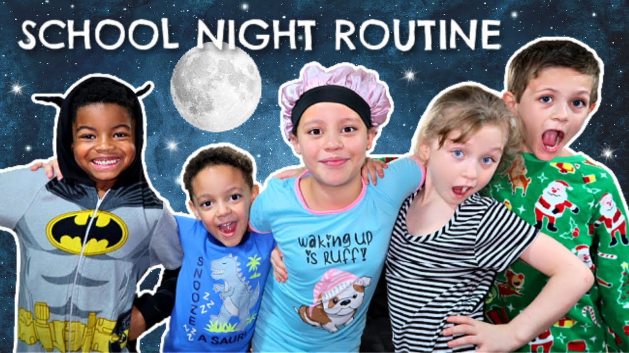 School Night Routine with a LARGE family of 17!