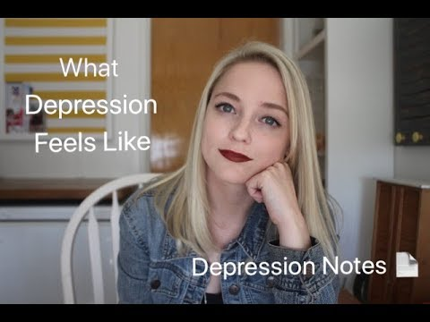 What Depression Feels Like