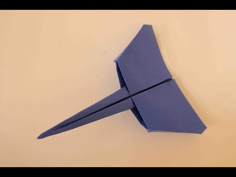 How to make a cool paper plane origami: instruction| Star-fighter