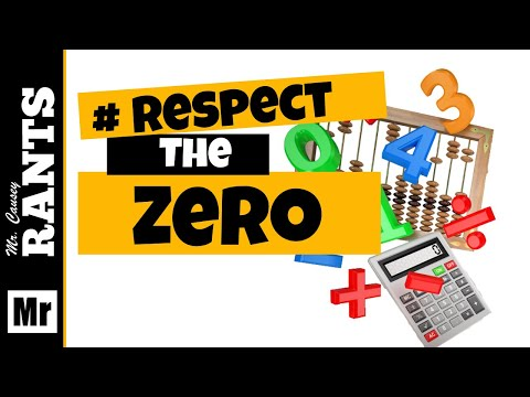 Respect the Zero | Significant Figures | RANT