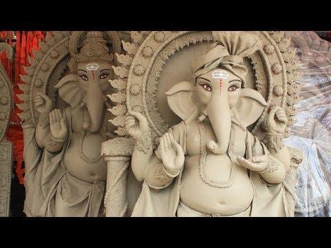 2017 Vinayaka Chaturthi Special | Making Huge Ganesh Idol With Clay In Warangal | Bhaarat Today