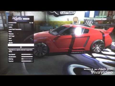 How to get Roman Atwood's car ( gtr ) in Gta five online