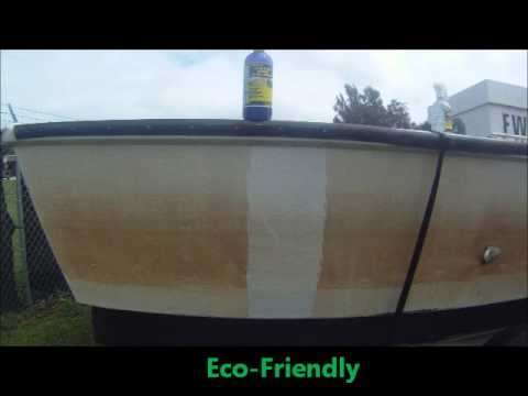 How to Remove Rust or Yellow Stains from Boat