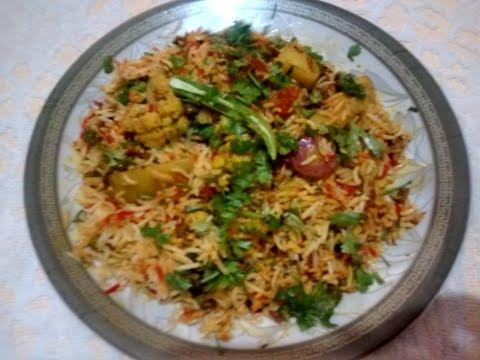 Vegetable Biryani | Easy Homemade Biryani Recipe | in( Hidi /Urdu)by Uzma Hussain