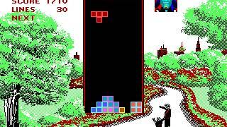 DOS Game: Tetris (1987 Spectrum Holobyte, Inc.)