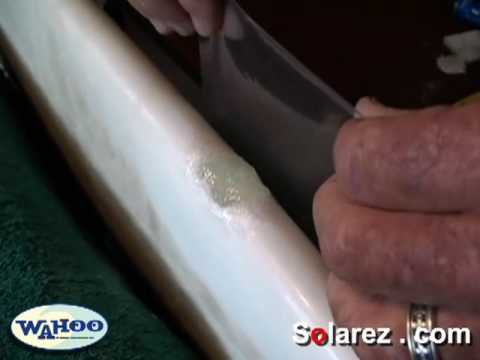 How to repair a surfboard using solarez UV cure resin. Life Hacks