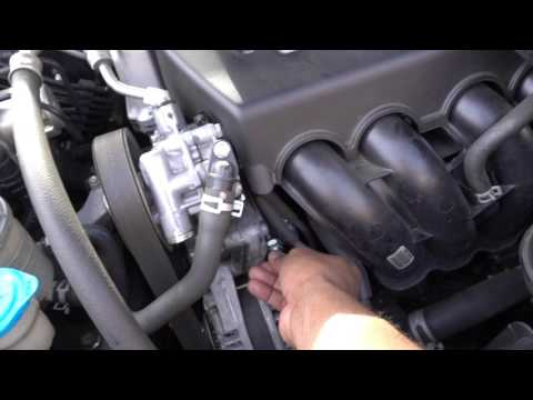 HOW TO CHANGE A PCV VALVE ON A 2009 HONDA ACCORD
