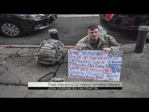 Three Hots and a Cot helping homeless veterans