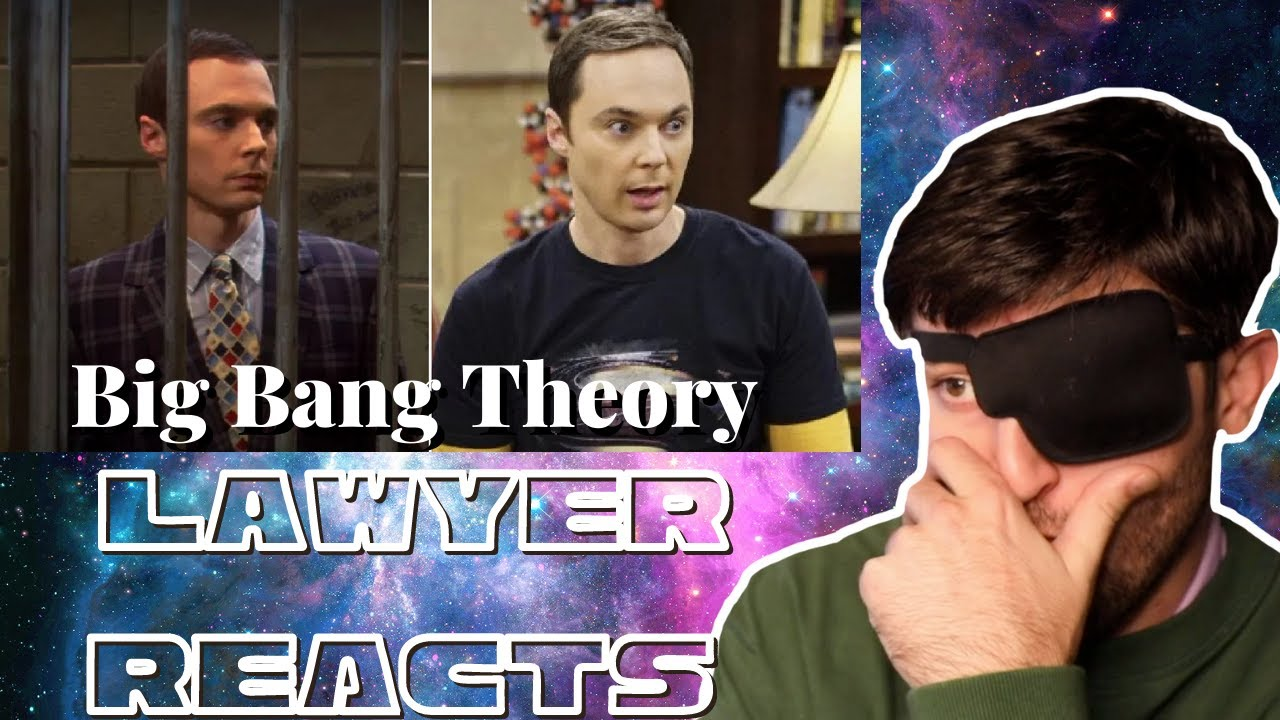 Lawyer Reacts to Sheldon's Trial (Big Bang Theory)