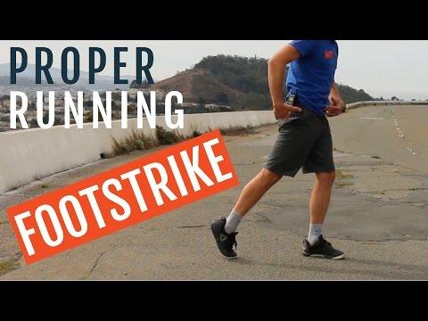 Proper Running Footstrike   3 Steps to Improve It!