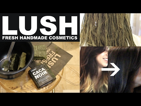 Lush Henna Hair Dye on Ombre Hair! Tutorial & Review