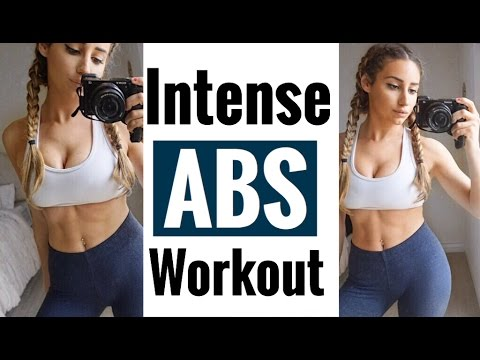 Flat Stomach Workout| Intense ABS Workout Routine|