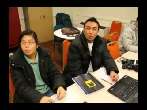 Burmese, Welcome DVD Chapter 10. Learning English,
