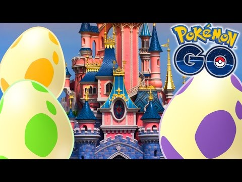 MASSE OEUFS A DISNEYLAND PARIS ! - VLOG POKEMON GO