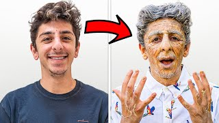 Transforming Into An Old Man