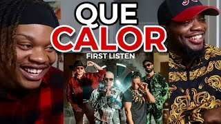 FIRST LISTEN 👀 | Major Lazer - Que Calor (feat. J Balvin & El Alfa) (Official Music Video)