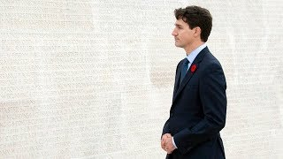 Honouring Canadian soldiers at Vimy